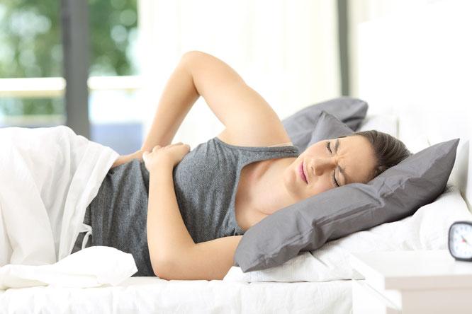 Ursachen nächtliches Schwitzen im Schlaf