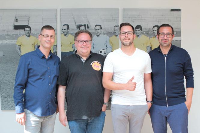 "v.L. Patrick ""Pöödy"" Leonardi, Matthias Bertram, Christoph Burow, Bastian Böhm"