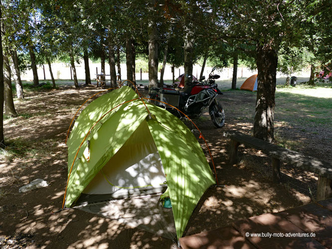 Chile - Melipeuco - Camping