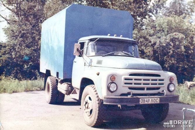 Автофургон ПСК-3Д на шасси ЗИЛ-130. Фото архивное