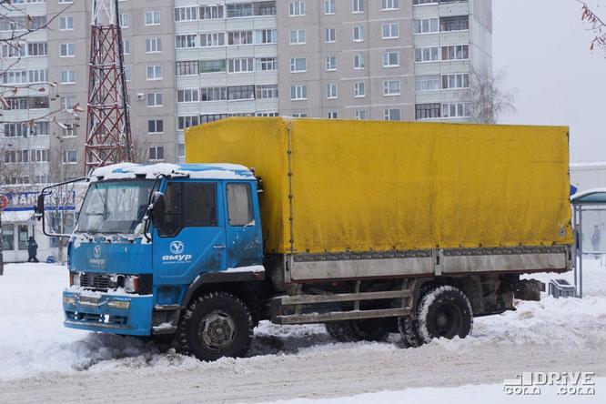Бортовой автомобиль Амур 531210. Минск. 11/12/2012