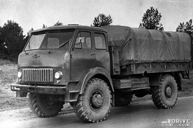 Полноприводный грузовик МАЗ-505