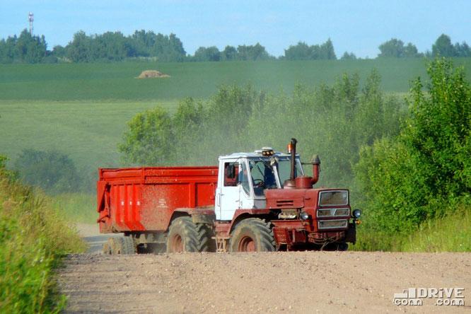 Трактор  Т-150К. 30/06/2009