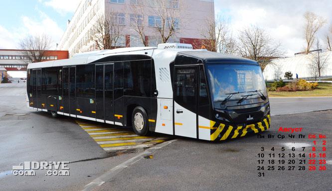 Аэродромный автобус МАЗ 271067