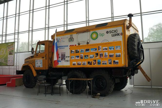 Экспедиционный автомобиль Север-1 на шасси ЗИЛ-433422. Caravanex-2012