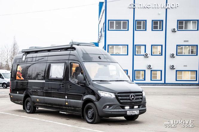 Автомобиль для перевозки мотоцикла на базе Mercedes-Benz Sprinter VS30. 13/11/2019