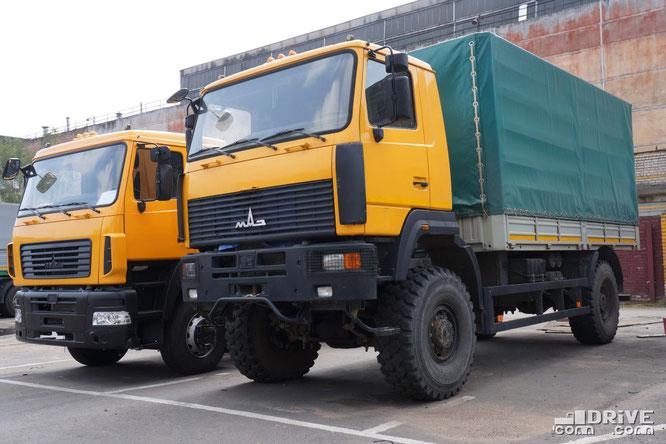 Полноприводный МАЗ-5309B5 с завдоским №001. МАЗ. 07/08/2012