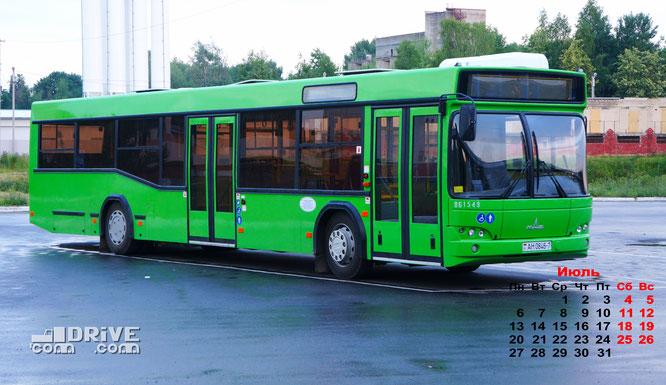 Пригородный автобус МАЗ-103562