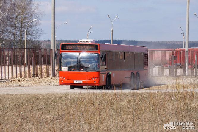 МАЗ-107468. Район трассы М1, Брест-Москва