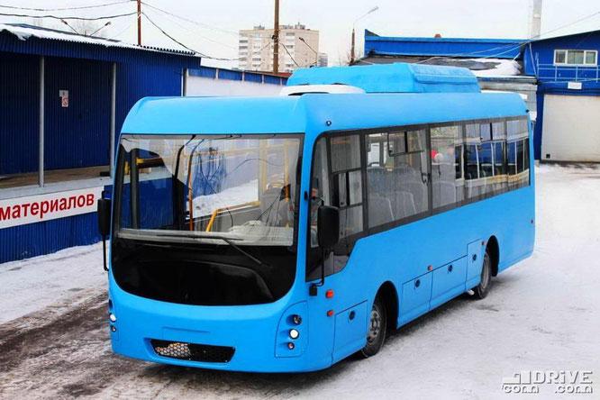 Опытный городской 9,5-метровый автобус на шасси Ashok Leyland