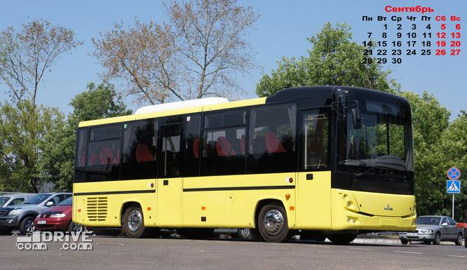 Междугородный автобус МАЗ 232062
