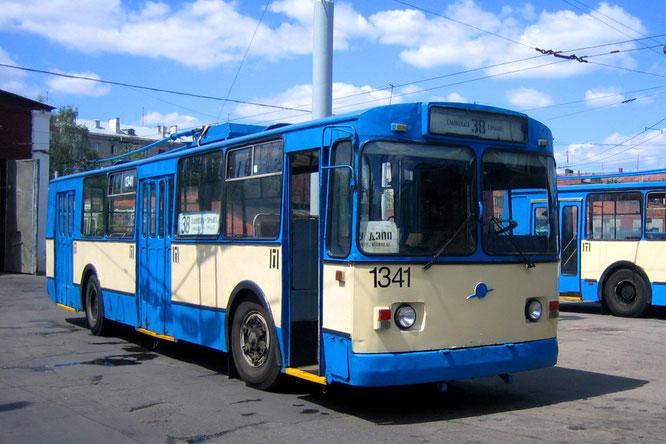 Троллейбус ЗИУ-682Г (Г00). Минск. 16/06/2006