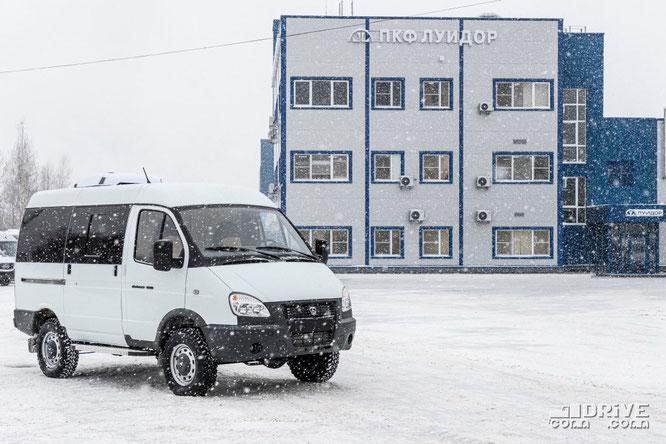 """Минивэн ЛУИДОР-2250X1 на базе ГАЗ-275200 """"Соболь 4х4"""""""