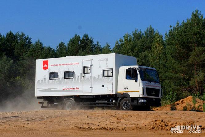 Передвижной офис МАЗ-КУПАВА-478810 на шасси МАЗ-4371W1-440-000. 07/08/2014