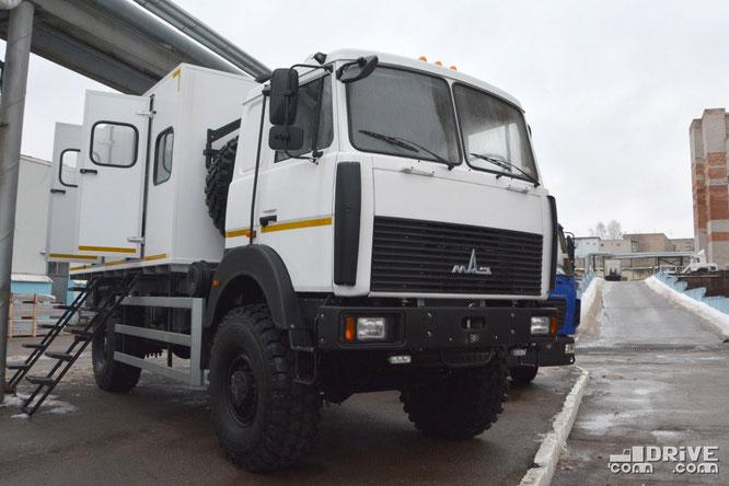 Специальный автобус Купава-573160 с кузовом КС5225 на полноприводном шасси МАЗ-5316F5. 15/02/2019