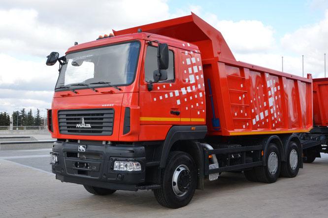 Самосвал МАЗ-6501C9-8520-005. BUDEXPO-2019, Минск. 27/03/2019