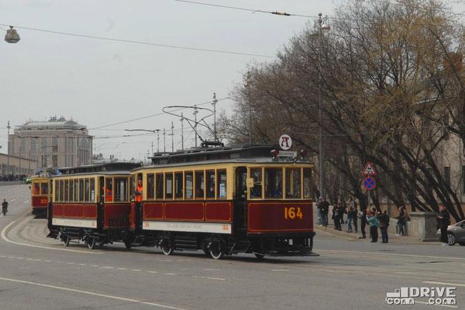 Ф (фонарный) на Параде трамваев. г. Москва. 20/04/2019