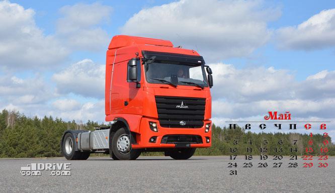 Седельный тягач МАЗ-5440M9