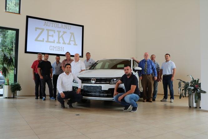 Das Team von Autoland Zeka