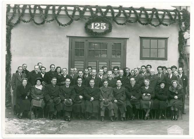 1948 :  Jubiläum 125 Jahre Kupferschmiede Leopold Löblich