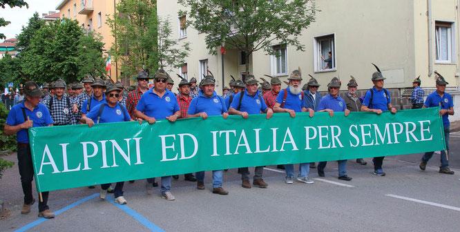 Alpini San Giorgio - Adunata Trento 2018