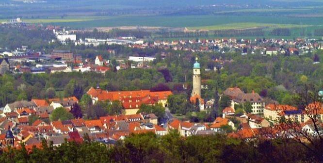 Blick über Arnstadt