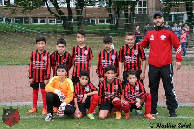 Der Sieger des E-Jugend-Turniers: Dostlukspor Bottrop.