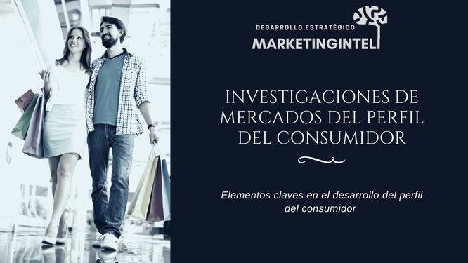 Investigaciones de mercados para definir el perfil del consumidor