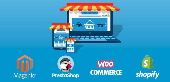 Plataformas para el desarrollo de negocios de comercio electrónico