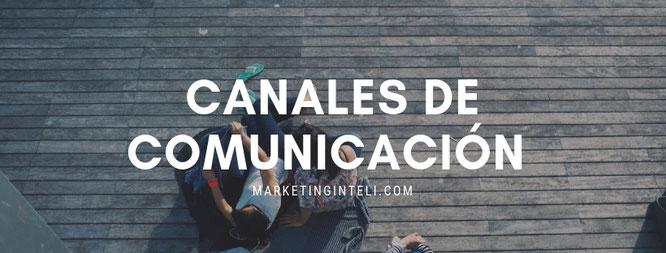 Selección de canales de comunicación en marketing