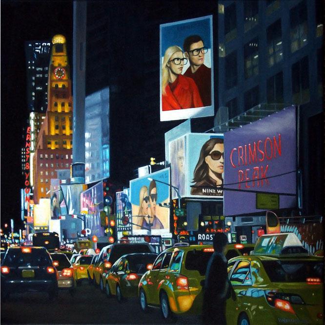 Ölbild mit New York Motiv 50x50cm