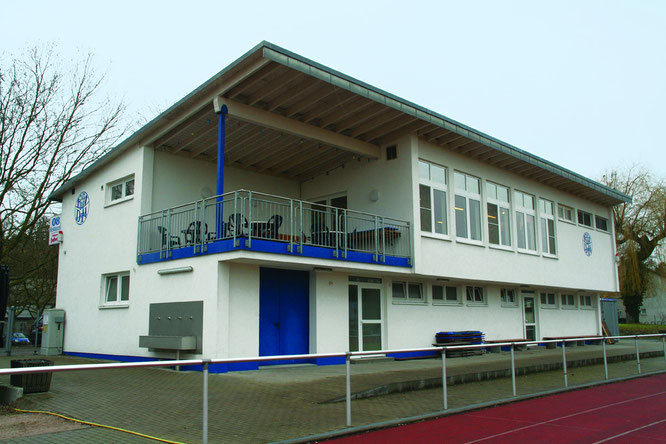 Das neue 08 Clubhaus