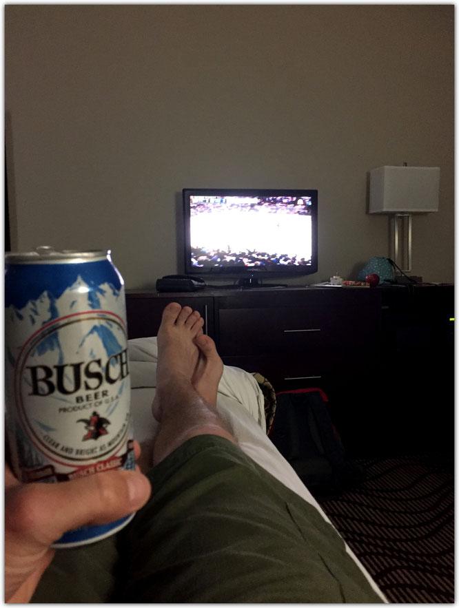 Busch Beer Houma Louisiana Icehockey