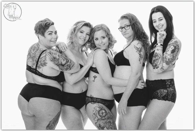 f.l.t.r.: Sonja, Corinne, me, Christine, Anna