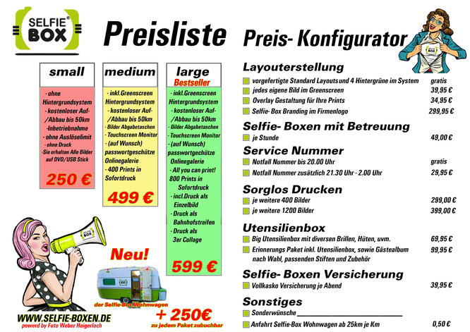 Photobooth Preise