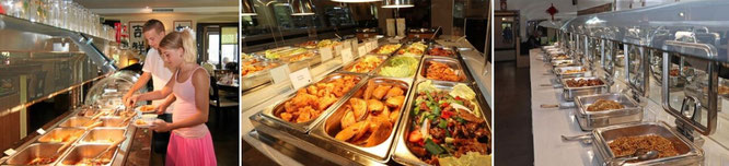 Chinarestaurant mit Buffet All-you-can-eat