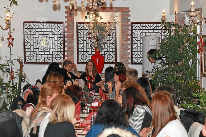 Weihnachtsfeier im Restaurant Rosengarten Rheinfelden