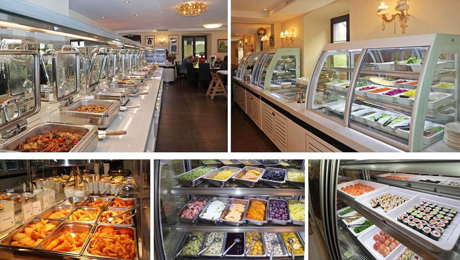 Buffet All-you-can-eat mit riesiger Auswahl