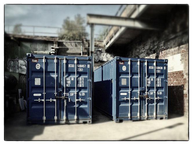 Duis.Container blau