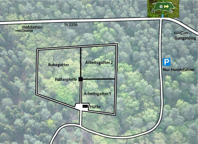 Karte Saugatter