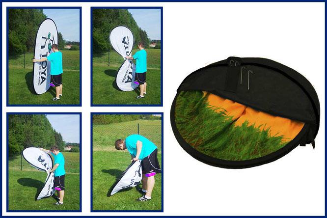 Montaje-golf-banners-compra-precios-Don Bandera