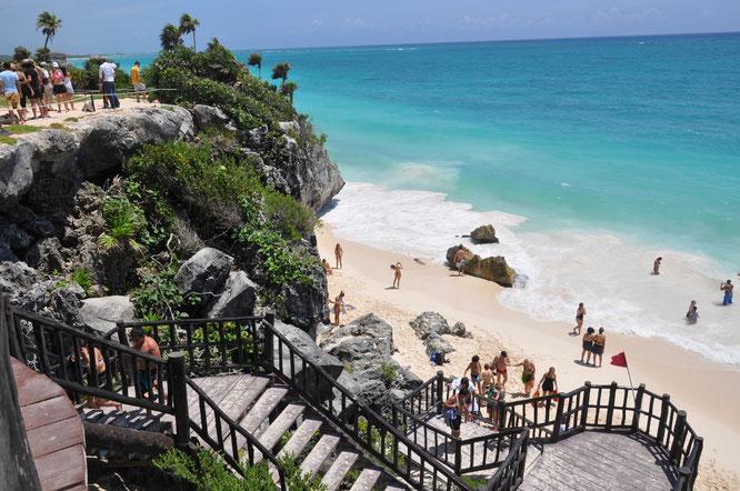 Strand Tulum Mexiko