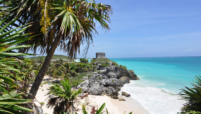 Reisetipp Tulum Strand Karibik