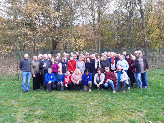 le 24 novembre 2019 , nous avons fêté les  20 ans de l' association avec le Beaujolais 2019. Le créateur du club et ancien  président  était  présent.