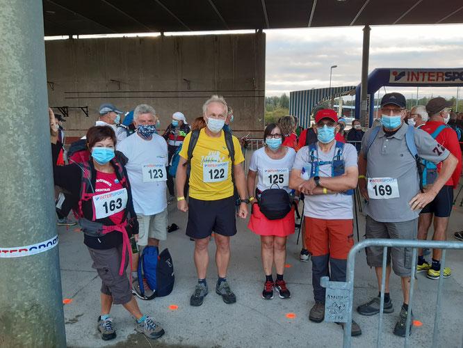 Marathon d'AMIENS  2020 - 7 randonneurs de  l' A.R.N.V sont venus et ont vaincus.  Chapeau  pour l'organisation  par LES CHEMINS EN SOMME .