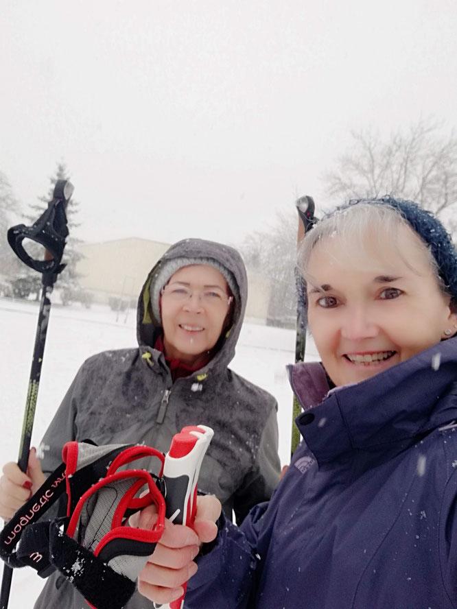 Samedi 16 janvier 2021 - sous  la neige ...