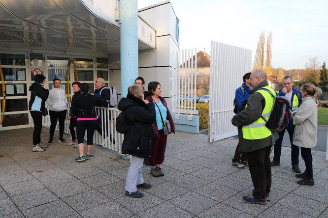 Rando-Nage  le vendredi 16 mars 2018  - au centre nautique de Nogent / Villers avec l' EANV  .   Environ  20 participants  pour une action au profit de  l' UNICEF.