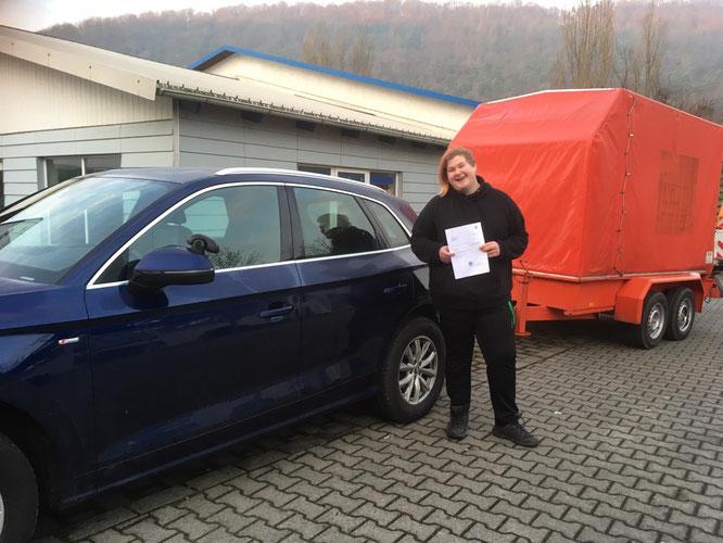 Justine Schmidt, Anhänger am 20.12.2019 in Wertheim