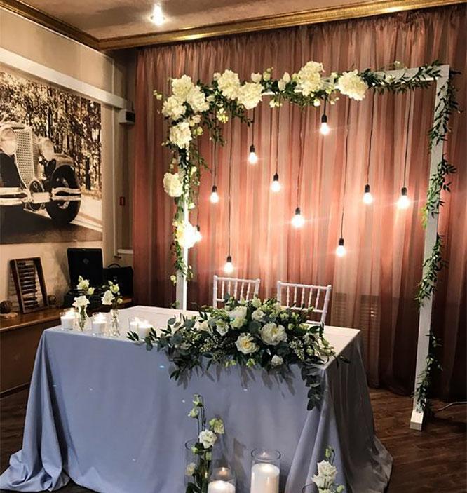 como decorar una boda en casa