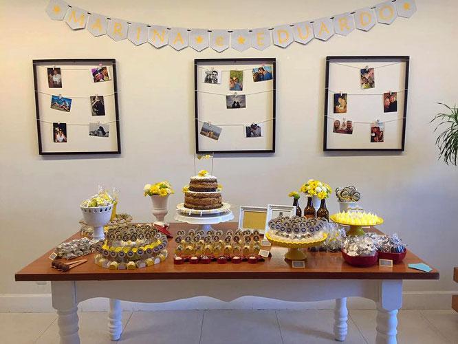 decoracion boda civil en casa